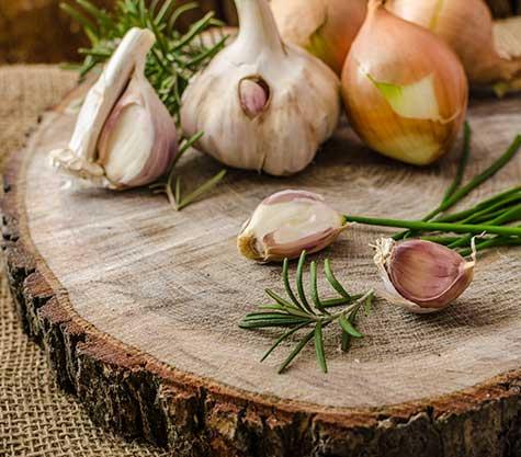 Onions and Garlic