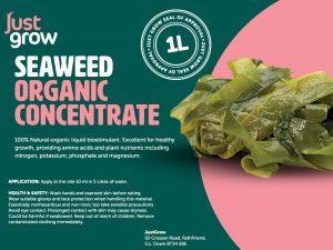 Seaweed Organic Label